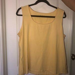 Light yellow tank top